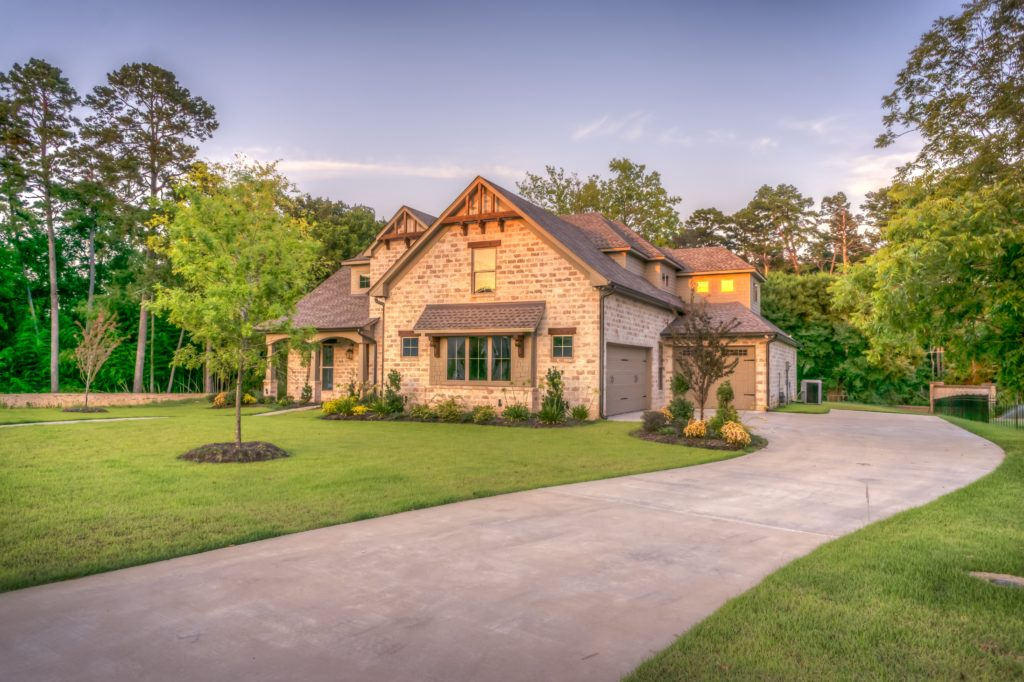 You can still build a house if you have a bad credit score by improving areas of improvement