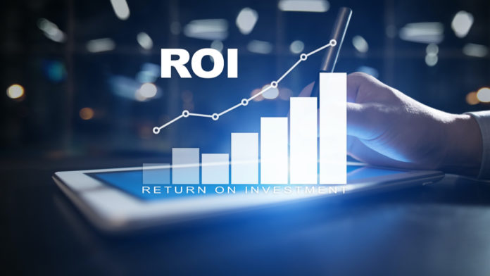 ROI is a financial metric that helps estimate the return on an investment.