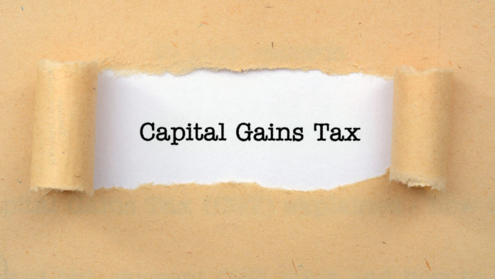 There are different rates applicable for long term and short term capital gain